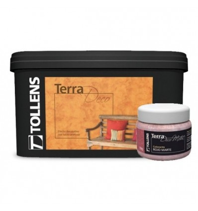 TERRA DECO Decorative Coating Granulated Sandy Effect TOLLENS