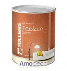 FER DECO. Decorative finish effect Rust for Interior TOLLENS
