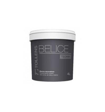 BELIZE TECHNIC multicolore peinture décorative granuleuse. effet mat minéral INTÉRIEUR TOLLENS